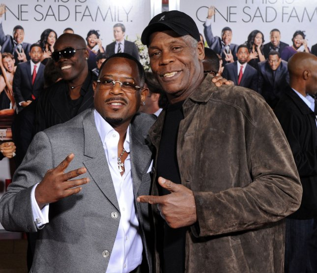 Martin Lawrence (L) and Danny Glover, cast members in the motion picture comedy Death at a Funeral, attend the premiere of the film at the Arclight Cinerama Dome in Los Angeles on April 12, 2010. UPI/Jim Ruymen