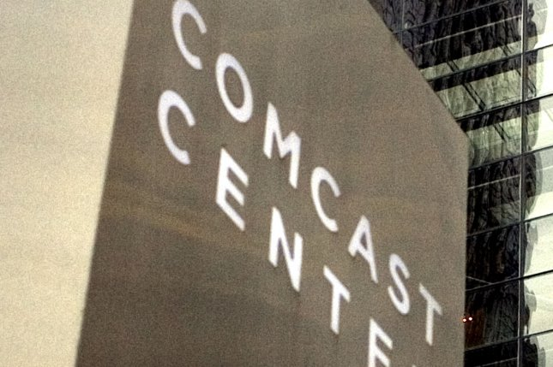The Comcast Center in downtown Philadelphia is seen on December 3, 2009. UPI/John Anderson.