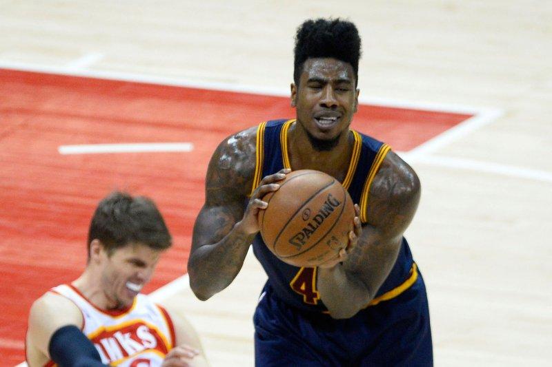 Cleveland Cavaliers' Iman Shumpert (4). Photo by David Tulis/UPI