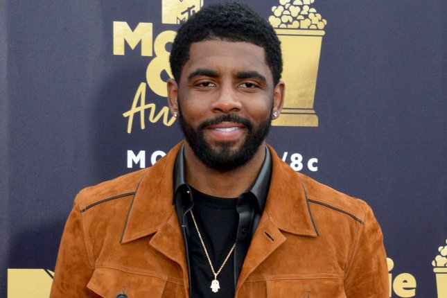 NBA star Kyrie Irving will appear in a horror film about the Skirvin Hotel. File Photo by Jim Ruymen/UPI
