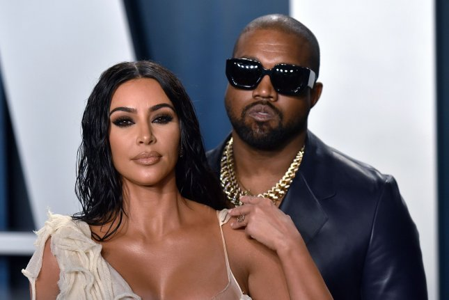 Kim Kardashian (L) addressed Kanye West's struggle with bipolar disorder in response to stigma and misconceptions about mental health. File Photo by Christine Chew/UPI