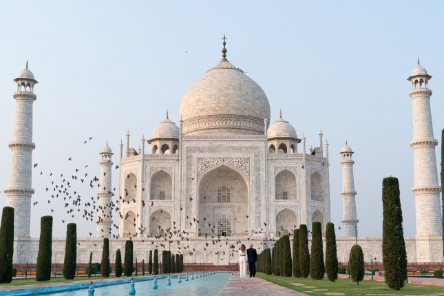 The Taj Mahal in Agra, India, reopened Monday for visitors. File White House Photo by Andrea Hanks/UPI