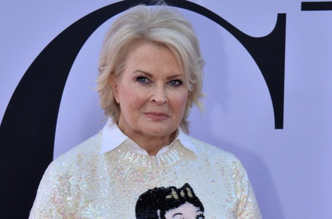 Candice Bergen will play Ben's (Jay R. Ferguson) mom, Barb, in new episodes of the Roseanne spinoff The Conners. File Photo by Jim Ruymen/UPI