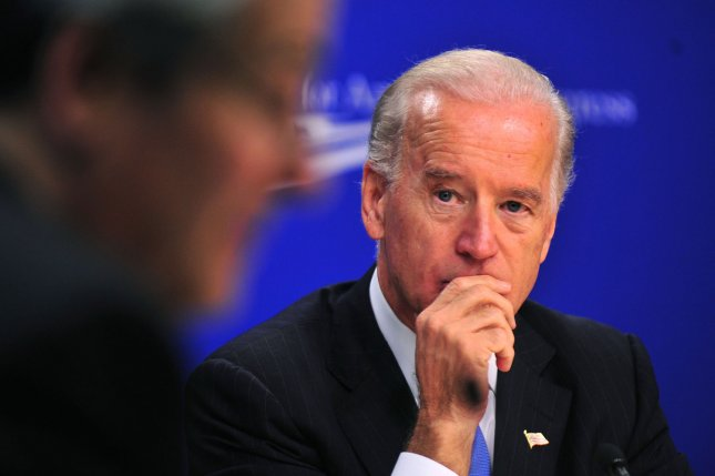 Vice President Joe Biden participates in a roundtable discussion on the challenges facing America's middle class, in Washington on November 5, 2009. UPI/Kevin Dietsch