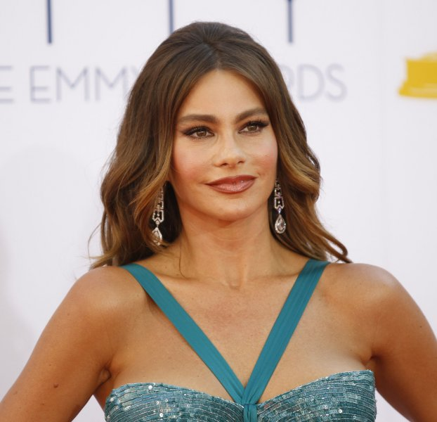 Actress Sofia Vergara arrives at the 64th Primetime Emmy Awards at the Nokia Theatre in Los Angeles on September 23, 2012. UPI/Danny Moloshok