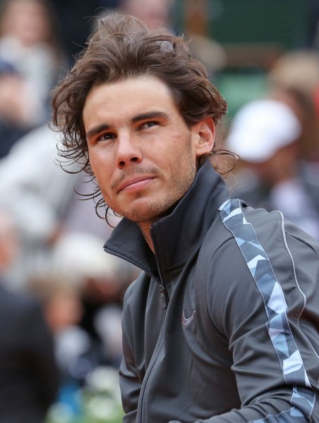 Rafael Nadal, shown Monday at the French Open final, was a straight-set upset loser to Philipp Kohlschreiber in a quarterfinal match at the Gerry Weber Open in Germany. . UPI/David Silpa