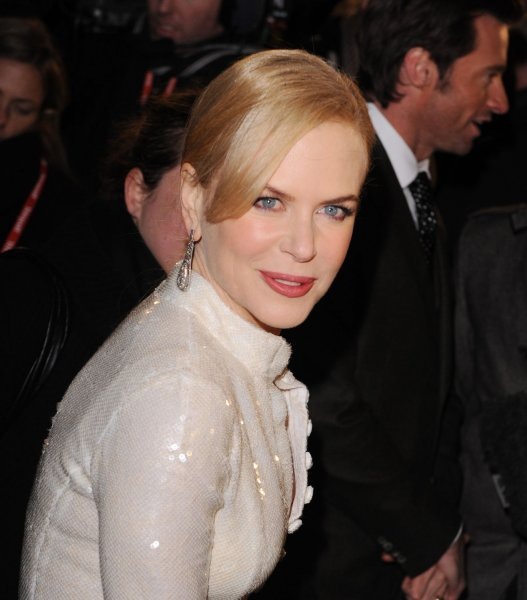 Australian actress Nicole Kidman attends the premiere of Australia at Odeon, Leicester Square in London on December 10, 2008. (UPI Photo/Rune Hellestad)