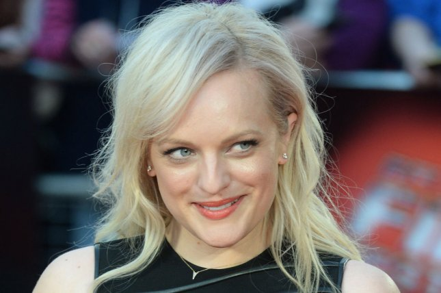 The Handmaid's Tale actress Elisabeth Moss attends a screening for High Rise during the 59th BFI London Film Festival on October 9, 2015. File Photo by Rune Hellestad/ UPI