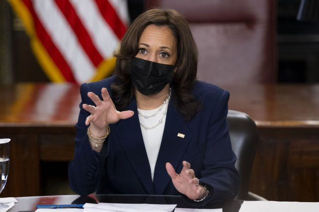 Vice President Kamala Harris will lead efforts to meet with Mexico, Honduras, Guatemala and El Salvador to stem immigration at the southern U.S. border.Photo by Michael Reynolds/UPI