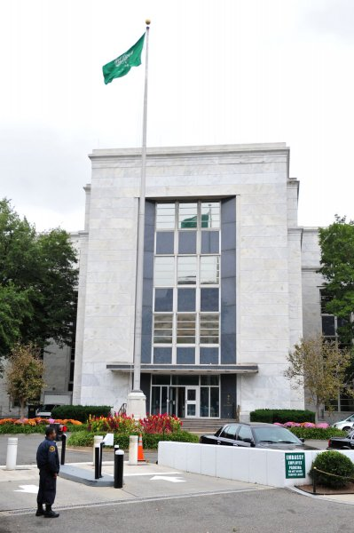 The Saudi Arabian embassy is seen in Washington, DC, on October 12, 2011. UPI/Kevin Dietsch