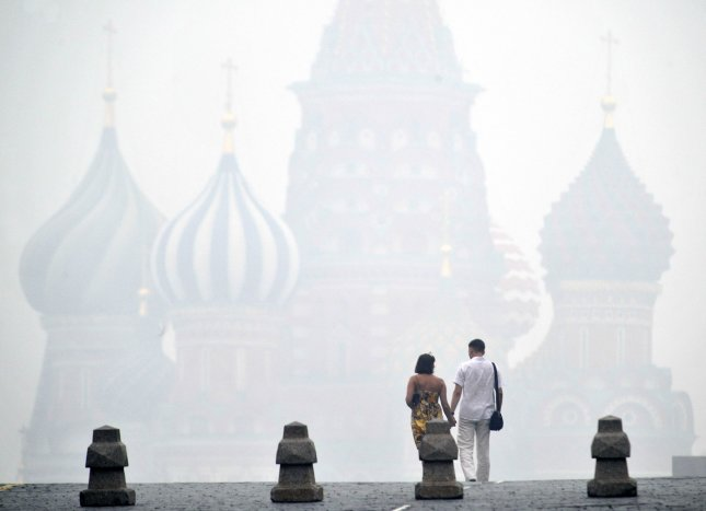 """St. Basil's Cathedral in Moscow. Russia's foreign ministry has selected 2015 as the """"Year of Friendship"""" with North Korea. UPI/Alex Volgin"""