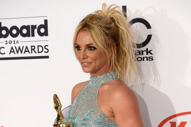 Britney Spears at the Billboard Music Awards on May 22. File Photo by Jim Ruymen/UPI
