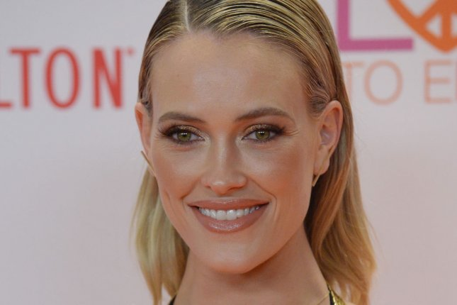 Peta Murgatroyd attends the Race to Erase MS gala on May 5. The dancer sampled several incredible cakes Wednesday weeks before her nuptials to Maksim Chmerkovskiy. File Photo by Jim Ruymen/UPI