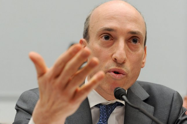 Commodity Futures Trading Commission Chairman Gary Gensler's term ends in January. And while he has been tough on banks, the newest rendition of the Volcker might be a bit weaker than he's been known for. (File/UPI/Roger L. Wollenberg)