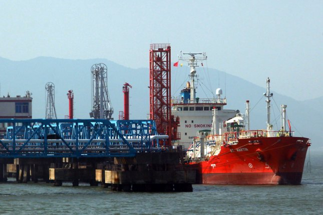 Japanese utility company to source LNG from Shell beginning in October. UPI/Stephen Shaver