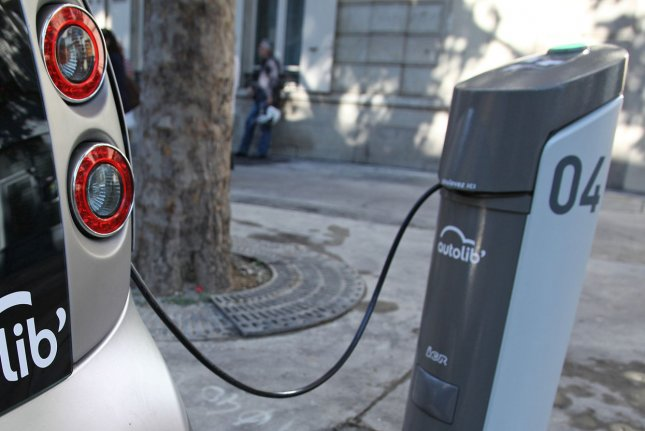 The European Commission signs off on German plans to steer investments toward charging stations for electric vehicles. Photo by David Silpa/UPI.