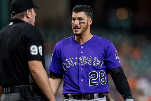 cedfcf6b7 Colorado Rockies third baseman Nolan Arenado will be signed with the  franchise through the 2026 season once his extension is finalized.