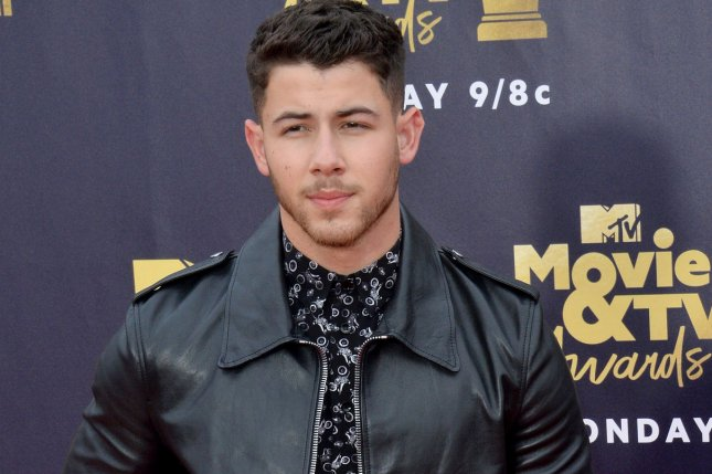 Nick Jonas and other celebrities, such as Mandy Moore, have reacted to the New Zealand mosque shootings. File Photo by Jim Ruymen/UPI