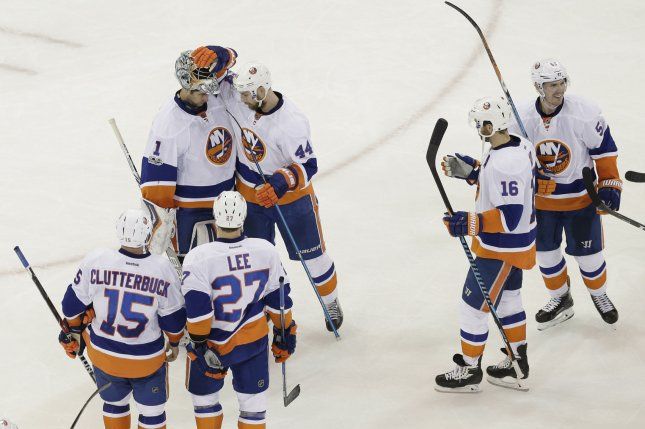 timeless design 045a0 288c8 Anders Lee, Anthony Beauvillier fuel New York Islanders past ...