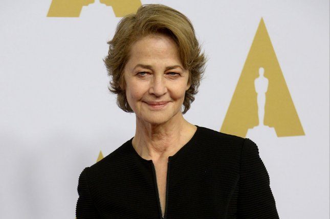 Actress Charlotte Rampling will receive the Honorary Golden Bear at the 2019 Berlin International Film Festival. File Photo by Jim Ruymen/UPI