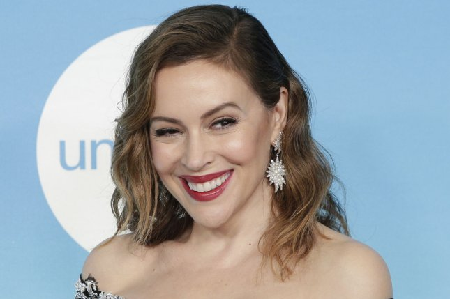 Former Charmed star Alyssa Milano arrives on the red carpet at the 14th Annual UNICEF Snowflake Ball on November 2018. Peacock has inked a deal with ViacomCBS to have shows such as Charmed and Ray Donovan appear on the streaming service. File Photo by John Angelillo/UPI
