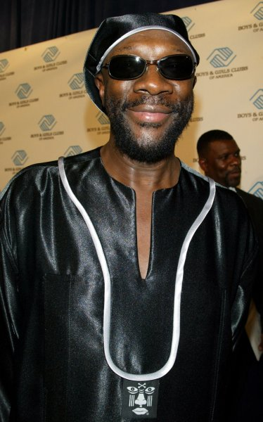 Musician Isaac Hayes, seen in this file photo on June 9, 2004 at the Boys & Girls Club America Annual President's Dinner in New York, was found dead today at his home in Memphis, Tennessee, August 10, 2008. He was 65. (UPI Photo/Laura Cavanaugh/Files)