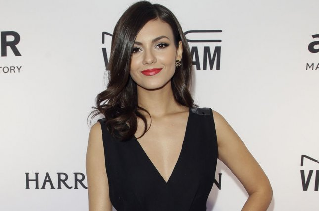 Victoria Justice at the amfAR Inspiration Gala on June 16. The actress will play Janet in Fox's forthcoming Rocky Horror Picture Show remake. File Photo by John Angelillo/UPI