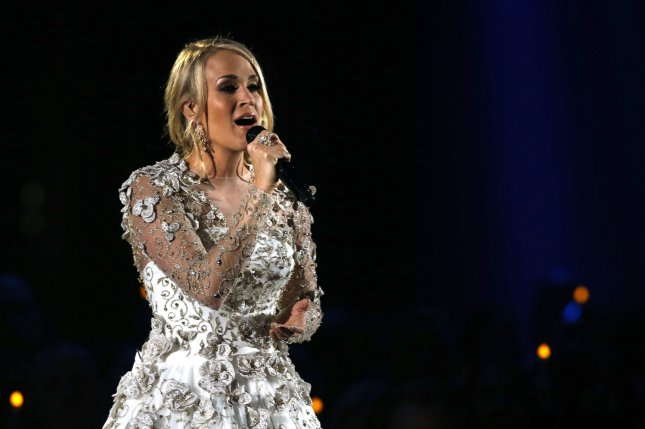 Carrie Underwood revealed Sunday that she recently suffered three miscarriages. File Photo by John Sommers II/UPI