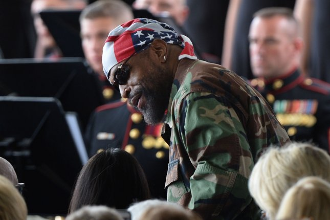 Mr. T attends the funeral for Nancy Reagan at the Ronald Reagan Presidential Library and Museum in Simi Valley, Calif., on March 11, 2016. The actor turns 68 on May 21. File Photo by Jim Ruymen/UPI