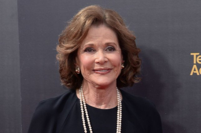 Jessica Walter, seen here at the Creative Arts Emmy Awards in Los Angeles in 2016, has died at age 80. File Photo by Jim Ruymen/UPI
