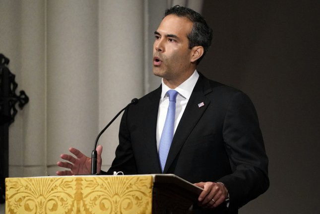 George P. Bush Wednesday night said he is running for attorney general of Texas while attacking incumbent Ken Paxton over his legal troubles. File pool photo by David J. Phillip/UPI