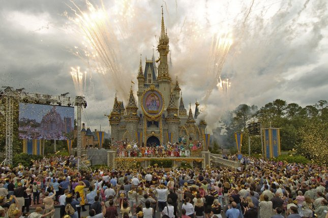 All Disney parks shuttered in March 2020 in response to the coronavirus outbreak. Walt Disney World in Florida, pictured, reopened a year ago.File Photo by Marino-Cantrell/UPI