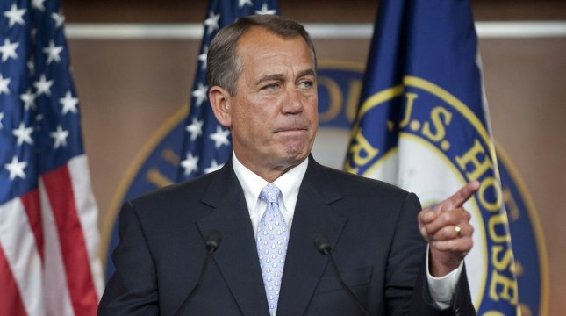U.S. Speaker of the House John Boehner, R-Ohio, in Washington, May 17, 2012. UPI/Kevin Dietsch