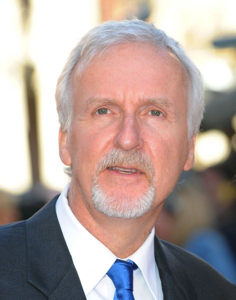 Filmmaker James Cameron attends the world premiere of Titanic 3D in London, March 27, 2012. UPI/Paul Treadway