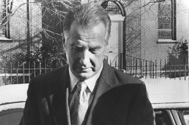 Former Vice-President Spiro T. Agnew arrives at the Anne Arundel County Circuit Court in Annapolis, MD, on December 18, 1973 to attend a disciplinary hearing called for him by the Maryland Bar Association. (UPI Photo/amk/Files)
