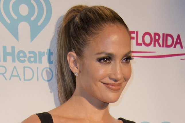 Jennifer Lopez made a great impression on Iggy Azalea on the set of their music video for 'Booty.' (UPI/Gary I Rothstein)