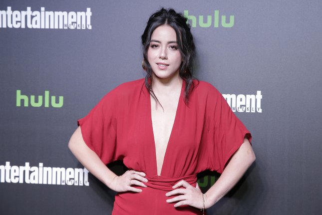Chloe Bennet is to lend her voice to a character in the new animated franchise Marvel Rising. File Photo by John Angelillo/UPI