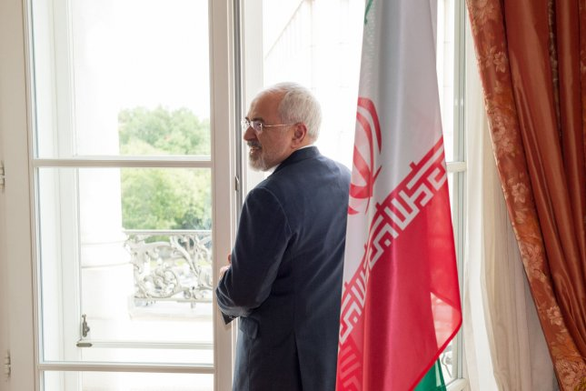 Iranian Foreign Minister Mohammad Javad Zarif said his country won't turn its back on a nuclear deal, but would restart its programs should Washington dismantle a U.N.-backed arrangement that lets Iranian oil flow through the market. File Photo by Ali Mohammadi/UPI