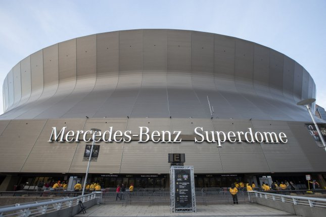 Mercedes-Benz's contract for the naming rights of the Superdome in New Orleans expires in July 2021. File Photo by Mark Wallheiser/UPI