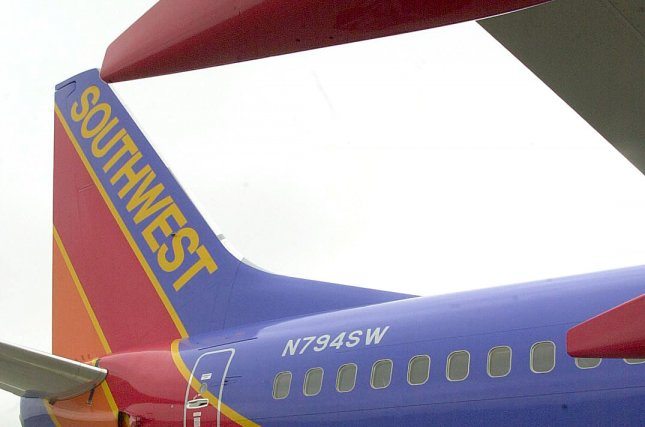 Southwest Airlines will stop serving passengers peanuts on flights this summer. File Photo by Bill Greenblatt/UPI