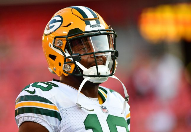 Green Bay Packers wide receiver Randall Cobb is one of Aaron Rodgers' top targets. File Photo by Kevin Dietsch/UPI