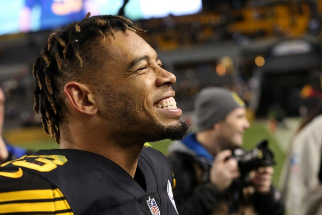 Pittsburgh Steelers defender Joe Haden is now signed through 2021 after agreeing to a two-year contract extension. File Photo by Aaron Josefczyk/UPI