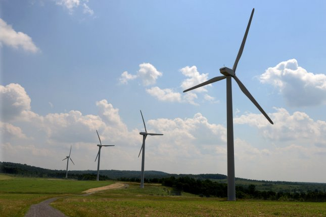 Renewable energy installations will decrease in 2020 for the first time in two decades, the IEA report said. File Photo by Pat Benic/UPI