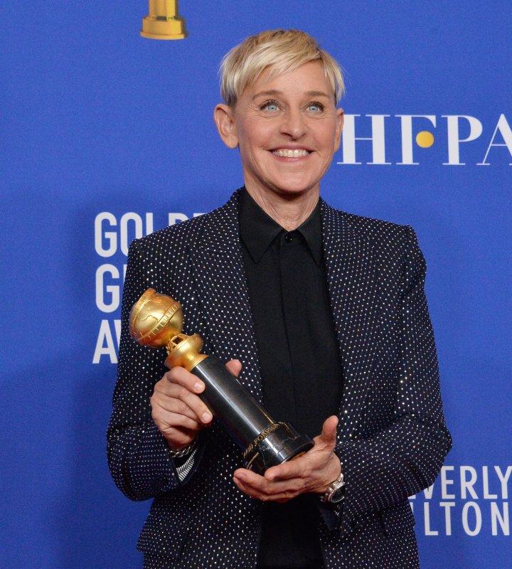 Ellen DeGeneres' eponymous talk show is set to return to the studio on Sept. 21. File Photo by Jim Ruymen/UPI
