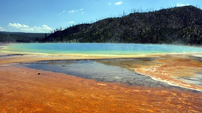 Yellowstone officials urge park-goers to wash hands with soap and water to avoid Norovirus. (UPI Photo/A.J. Sisco)