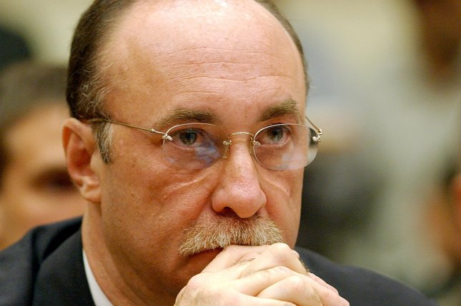 Jerome Hauer in 2002 on Capitol Hill (File/Roger L. Wollenberg/UPI)