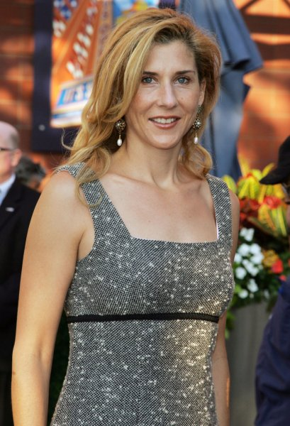 Monica Seles arrives for the opening night celebration of the 2008 U.S. Open Tennis tournament at the USTA Billie Jean King National Tennis Center in New York on August 25, 2008. (UPI Photo/Laura Cavanaugh)