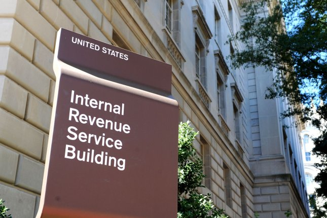 The new IRS web page allows Americans to track their payments by submitting tax return information. File Photo by Kevin Dietsch/UPI