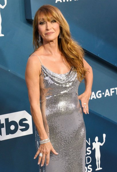 Jane Seymour arrives for the 26th annual SAG Awards held at the Shrine Auditorium in Los Angeles on January 19. She turns 70 on February 15. File Photo by Jim Ruymen/UPI
