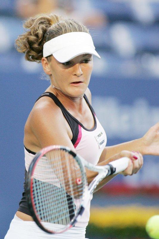 Poland's Agnieszka Radwanska, shown at the U.S. Open Sept. 1, 2008. (UPI Photo/Monika Graff)